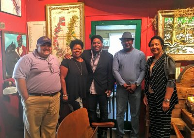 Board members Lee Melancon, Kathe Hambrick (founder), Kris Thomas King, Gerard Preyan, and Nedra Payne